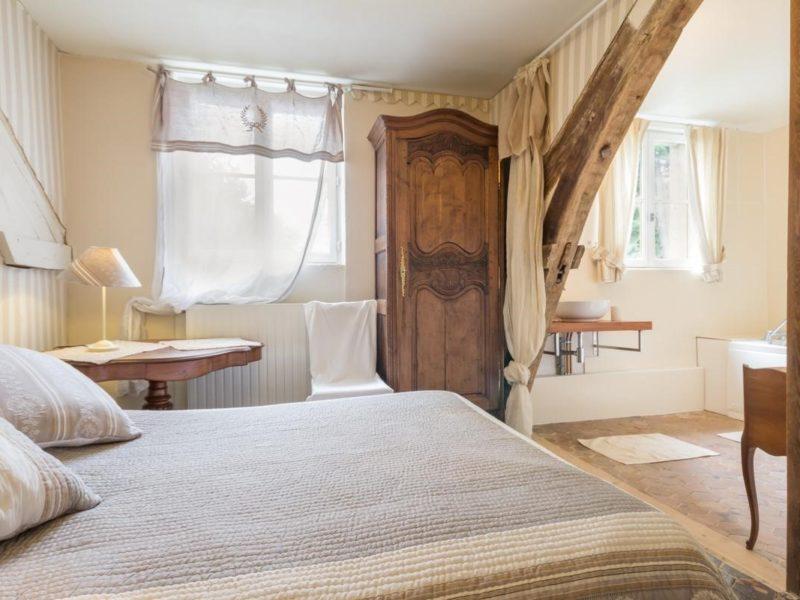 Chambre du Manoir du Val Vandrin